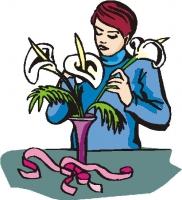 Флористическая лента, тычинки и проволока