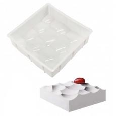 Силиконовая форма для десертов Айсберг 15х4 см