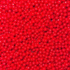 Драже Красные глянцевые 5 мм 100 гр