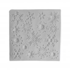 Силиконовый молд Набор Снежинок №2 11х11 см
