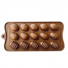 Силиконовая форма для шоколада Яички