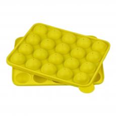 Форма силиконовая для кейк-попсов на 20 шт с дырочками