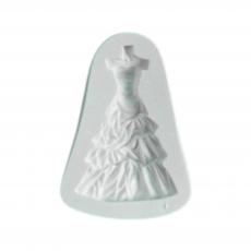 Силиконовый молд Платье 5.5x8 см