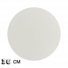 Подложка под торт белая ДВП 36 см 3 мм