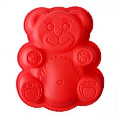 Силиконовая форма Медвежонок малый 15 см