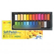 Пастель сухая 24 цвета