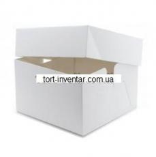 Коробка для торта 30х30х23 с крышкой