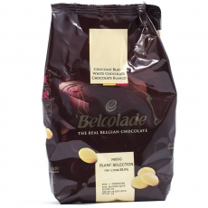 Белый Бельгийский шоколад Belcolade 36% 1 кг развес
