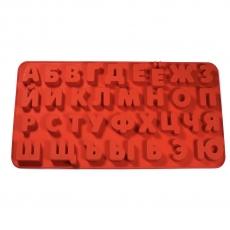 Силиконовая форма Русский алфавит 3D большой 3.5 см
