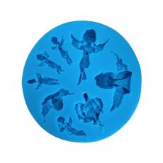 Силиконовый молд Набор ангелочков d-9 см
