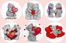 Вафельная картинка A4 День святого Валентина №29