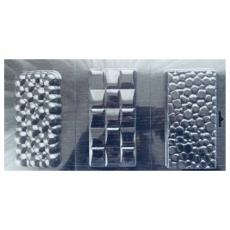 Форма пластиковая для шоколада Три Плитки №2 18х34.5 см