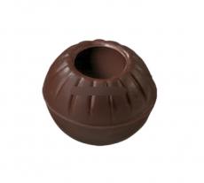 Формы для трюфеля чёрный шоколад 24 шт