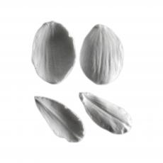 Силиконовый вайнер молд набор Орхидеи №2 2.5Х4 1.5Х4 см