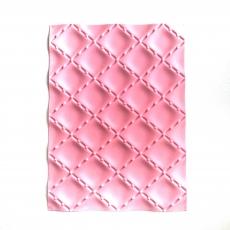 Силиконовый текстурный коврик для десертов Ромбы 25х18.5х0.6 см