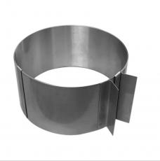 Металлическая форма Cake&Pie Раздвижная круглая без дна 8 см
