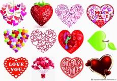 Вафельная картинка A4 День святого Валентина №32