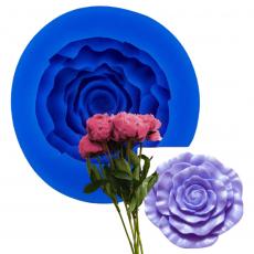 Силиконовый молд Большая роза