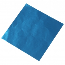 Фольга для конфет 8x8 см Синяя 100 шт