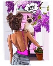 Вафельная картинка A4 Sweet & Lovely №3