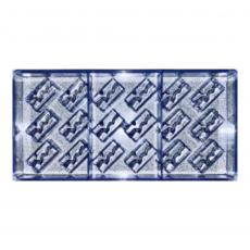 Форма поликарбонат для шоколада Вулканические прямоугольные конфетки