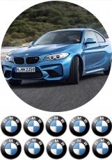 Вафельная картинка A4 Автомобиль BMW M3