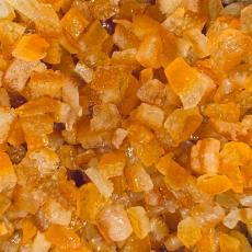 Засахаренные апельсиновые кубики 6х6 мм 50 гр развес