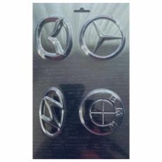 Пластиковая форма для шоколада Эмблемы автомобилей
