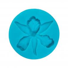 Силиконовый молд Орхидея d-6.4 см