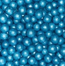 Драже Голубой жемчуг 10 мм 50 гр