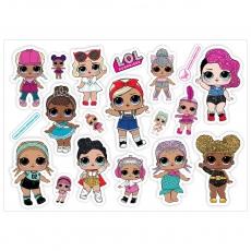 Вафельная картинка A4 Куклы LOL 7