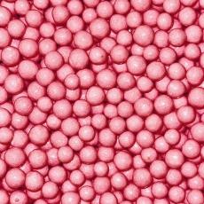 Драже Розовые глянцевые 10 мм 100 гр