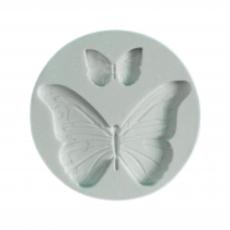 Силиконовый молд Две бабочки 5.5.х5.5 см
