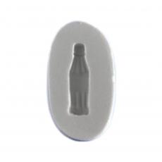 Силиконовый молд бутылка кока-колы