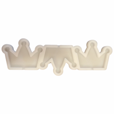 Силиконовая форма для леденцов Три короны