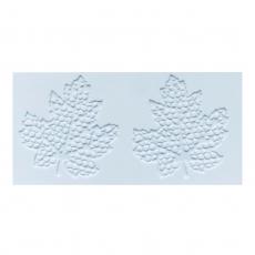 Коврик силиконовый для айсинга Кленовый лист