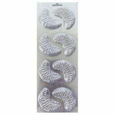 Пластиковая форма для шоколада Дольки мандарина 10.5х26.5 см