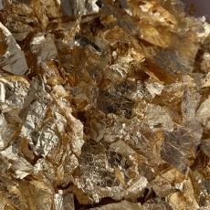 Сусальное золото в хлопьях Англия 1 гр