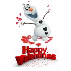 Вафельная картинка A4 День святого Валентина №9
