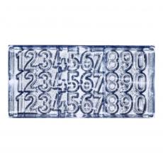 Форма поликарбонат для шоколада Цифры