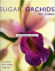 Орхидеи из мастики (Sugar orchids for cakes alan dunn)