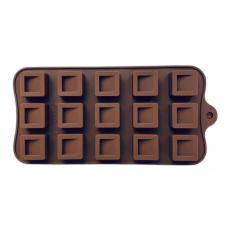 Силиконовая форма для шоколада Квадратные конфетки