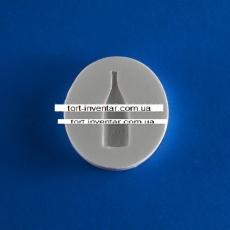 Силиконовый молд бутылка шампанского