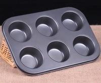 Форма для выпечки 6 кексов