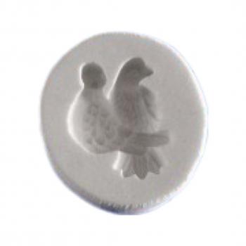 Силиконовый молд голуби 2