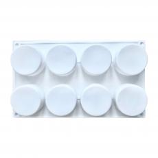 Силиконовая форма Пироженое-цилиндры 8 шт 6х3.5 см
