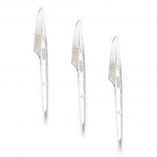 Пластиковый десертный нож 10 шт