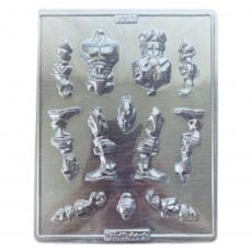 Пластиковая форма для шоколада Супергерой 21.5х26.5 см