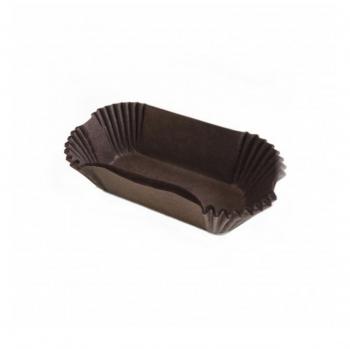 Тарталетки для эклеров коричневые 50 шт