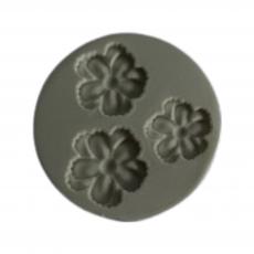 Силиконовый молд Набор цветочков №2 5.5x5.5 см